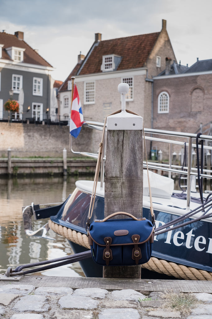 The Billingham Hadley Small Pro at the docks in the historic city of Heusden