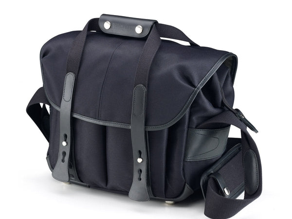 Billingham 207 Camera Bag - Black FibreNyte / Black Leather
