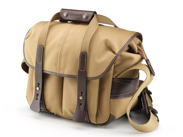 Billingham 207 Camera Bag -  Khaki Fibrenyte/Chocolate Leather