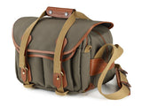 Billingham 225 Camera Bag - Sage Fibrenyte/Tan Leather