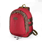 Billingham 25 Rucksack for Cameras - Burgundy Canvas / Chocolate Leather