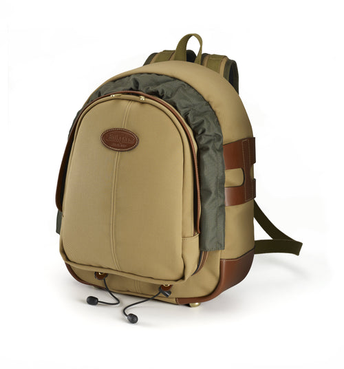 Billingham 25 Rucksack for Cameras - Khaki Canvas / Tan Leather