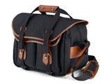 Billingham 335 Black Canvas/Tan Leather