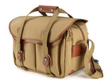 Billingham 335 Khaki Canvas/Tan Leather