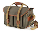 Billingham 335 Sage Fibrenyte with Tan Leather