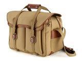Billingham 445 Khaki Canvas/Tan Leather