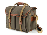 Billingham 445 Sage Fibrenyte/Tan Leather