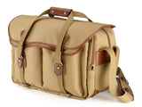 Billingham 555 Khaki Canvas/Tan Leather