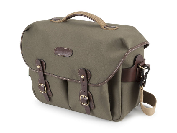 Billingham Hadley One - Sage Fibrenyte/Chocolate Leather