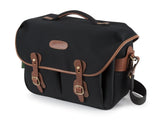 Billingham Hadley One - Black Canvas/Tan Leather
