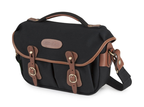Billingham Hadley Small Pro Camera Bag - Black Canvas/Tan Leather