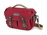Billingham Hadley Small Pro Camera Bag -  Burgundy Canvas/Chocolate Leather