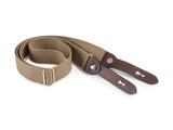 Billingham Stowaway Sling - Khaki Webbing/Chocolate Leather