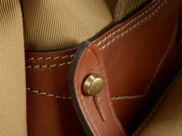 Billingham 550 side leather and pocket connecter