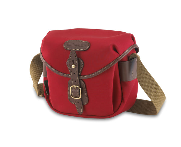 Billingham Hadley Digital Camera Bag - Burgundy Canvas/Chocolate Leather