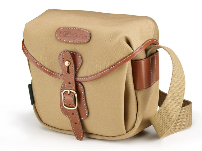 Billingham Hadley Digital Camera Bag - Khaki Canvas/Tan Leather