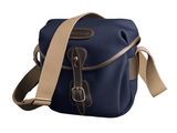 The Billingham Hadley Digital in Navy Canvas and Chocolate Leather
