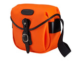 Billingham Hadley Digital Camera Bag - Neon Orange Canvas / Black Leather