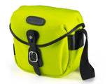 Billingham Hadley Digital Camera Bag - Neon Yellow Canvas / Black Leather