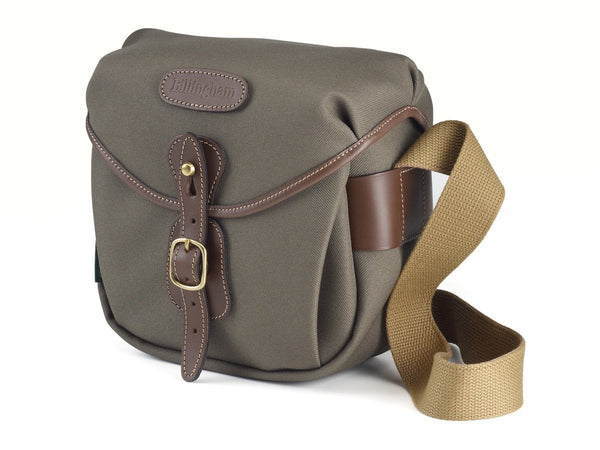 Billingham Hadley Digital Camera Bag - Sage FibreNyte / Chocolate Leather