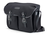 Billingham Hadley Large Camera Bag - Black Canvas/Black Leather