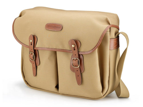 Billingham Hadley Large Camera Bag - Khaki Canvas/Tan Leather