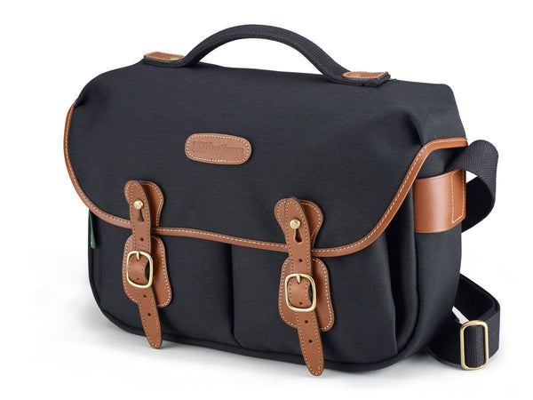 Billingham Hadley Pro Camera Bag - Black Canvas/Tan Leather
