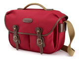 Billingham Hadley Pro Camera Bag - Burgundy Canvas/Chocolate Leather