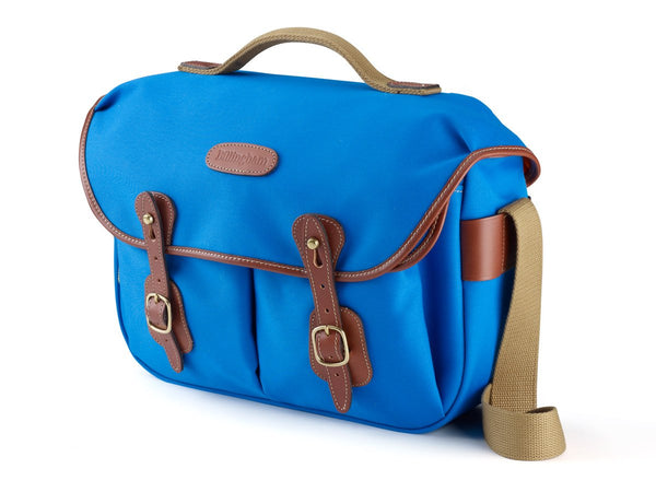 Billingham Hadley Pro Camera Bag - Imperial Blue Canvas/Tan Leather
