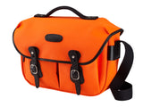 Billingham Hadley Pro Camera Bag - Neon Orange / Black Leather