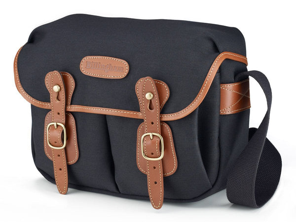 Billingham Hadley Small Camera Bag - Black Canvas/Tan Leather