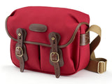 Billingham Hadley Small Camera Bag - Burgundy Canvas/Chocolate Leather