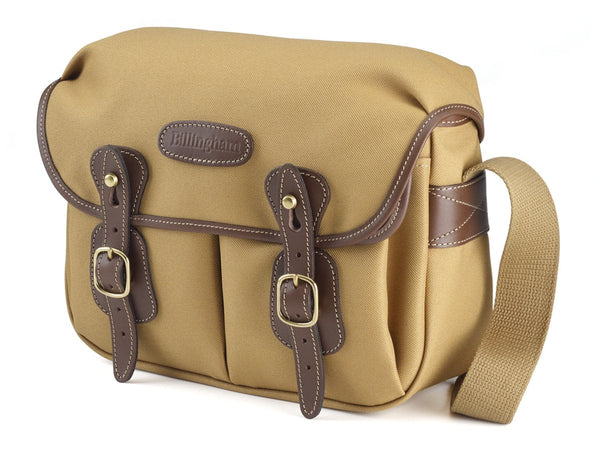 Billingham Hadley Small Camera Bag - Khaki Fibrenyte/Chocolate Leather