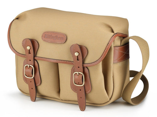 Billingham Hadley Small Camera Bag - Khaki Canvas/ Tan Leather