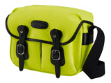 Billingham Hadley Small Camera Bag -  Neon Yellow Canvas/ Black Leather
