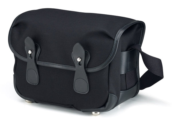 Billingham L2 Camera Bag - Black Canvas / Black Leather