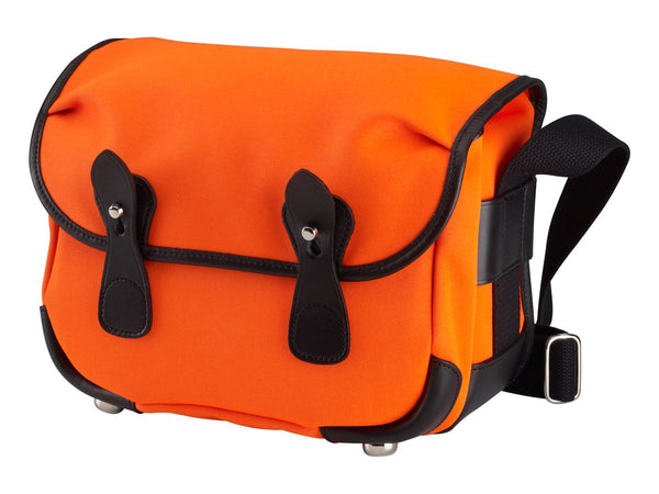 Billingham L2 Camera Bag - Neon Orange Canvas/Black leather