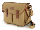 Billingham Packington Camera and Shoulder Bag - Khaki Canvas / Tan Leather