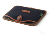 Billingham Tablet Slip Black Canvas/Tan Leather