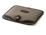 Billingham Tablet Slip Sage FibreNyte/Chocolate Leather