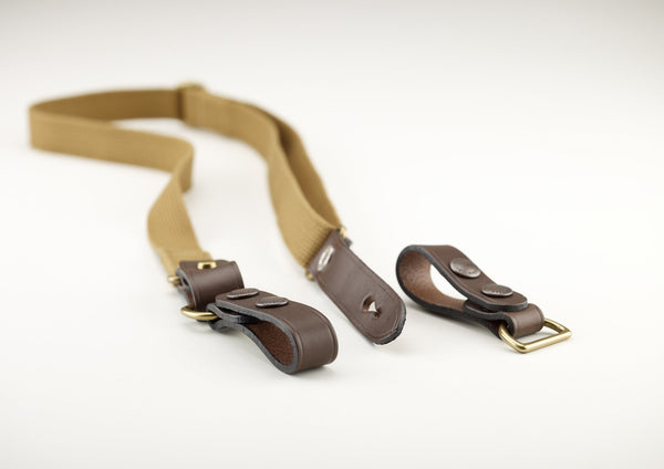 Billingham Waist Strap attachment - Khaki/Chocolate