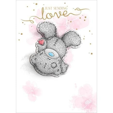 Bear sending 'Love' - Birthday Card