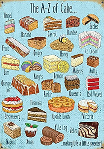 The A-Z of Cake (Small)