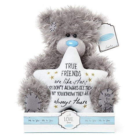 True Friends are like Stars - 9'' Bear