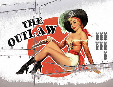Nose Cone Girls - The Outlaw (Small)