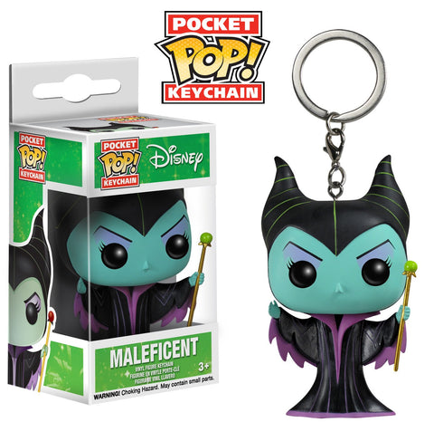 Maleficent Keychain