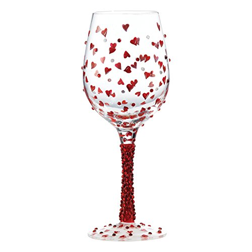 Red Hot Wine Glass