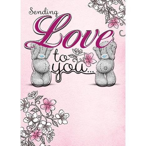 Bears sending 'Love' - Birthday Card