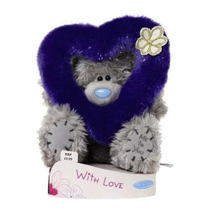 Fluffy Heart Ring - 6'' Bear
