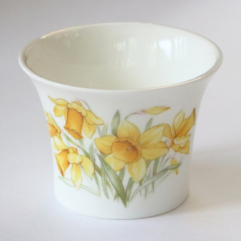 Daffodil Bone China Tea Light Holder - Mum